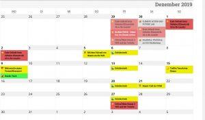 Kalender Klimabündnis Hamm